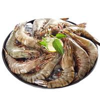 有券的上:信豚 活冻黑虎虾(大号) 350g/盒 *10件