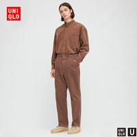 UNIQLO 优衣库 430873 男士休闲直筒长裤