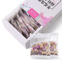 茶人岭  冬瓜玫瑰荷叶茶袋泡茶包 128克 *3件