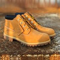 考拉海购黑卡会员:Timberland 添柏岚 12909 女士工装靴