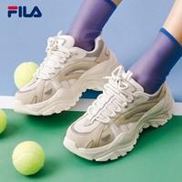 FILA 斐乐 鱼刺系列 F12W034120F 女士复古老爹鞋