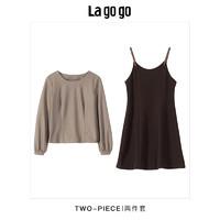 La go go 拉谷谷 HCLL839A38 女士连衣裙