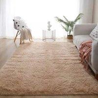 京东PLUS会员:SIBAOLU 斯宝路 ins风卧室地毯 120*160cm加厚长毛款