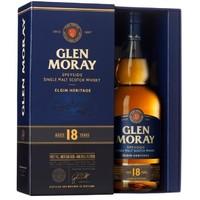 cdf会员购!Glen Moray 格兰莫雷 18年 斯佩塞 单一麦芽 威士忌 700ml