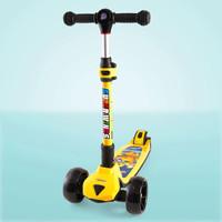 京东PLUS会员:AULDEY 奥迪双钻 DL391712 超级飞侠多多儿童滑板车 +凑单品