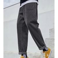 预售0点截止、双11预售:PEACEBIRD MEN 太平鸟 BWGBA4510 灯芯绒休闲裤