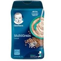 25日0点、88VIP:Gerber 嘉宝 婴幼儿米粉 2段 227g *4件