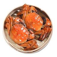 京觅 鲜活大闸蟹现货 公3.0两 母2.0两 5对10只(低至8.05元/只,另有全母款可选) *2件