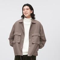 GU 极优 328017 男女款宽松夹克外套