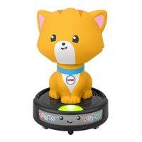 Fisher-Price 费雪 婴幼儿爬行玩具 新品智玩学爬小猫咪扫地机