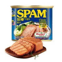 限地区、有券的上:SPAM 世棒 午餐肉罐头 经典原味 340g  *20件 +凑单品