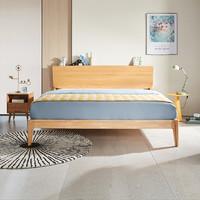 双11预售:KUKa 顾家家居 PTDK502B 简约现代实木双人床 1.5/1.8m