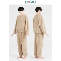 DAPU 大朴 情侣加厚保暖睡衣套装