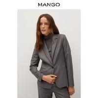双11预售:MANGO 77095914 女士西装外套