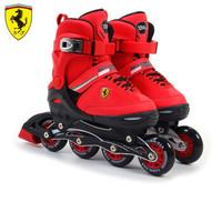 Ferrari 法拉利 FK16 儿童溜冰鞋