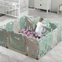 双11预售:babycare 儿童室内游戏围栏 8+2片