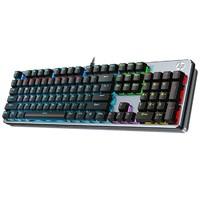 聚划算百亿补贴:HP 惠普 GK400F 机械键盘 黑色混光青轴