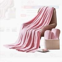双11预售:LOVO 乐蜗家纺 现代简约抑菌法兰绒毯 120*150cm