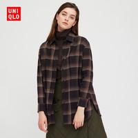 UNIQLO 优衣库 432350 女士宽松长衬衫