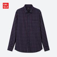 UNIQLO 优衣库 421193 男士格子衬衫