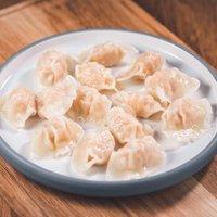 必品阁(bibigo)一品海风 脆甜马蹄虾仁水饺 230g 25只 早餐食材 *10件
