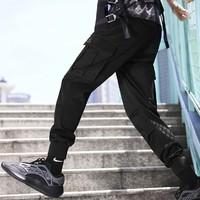 双11预售:PEACEBIRD MEN 太平鸟 cargo YBWGB91623 纯棉束腿裤