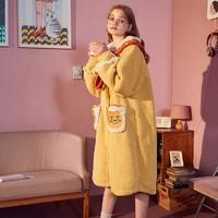 双11预售:Gukoo 果壳 kakaofriends 珊瑚绒睡衣