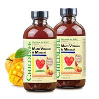 双11预售:CHILDLIFE 童年时光 多维锌 23种维生素 2瓶