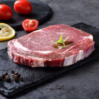 京东PLUS会员:海派鲜家   原切厚切眼肉牛排    220g*5片
