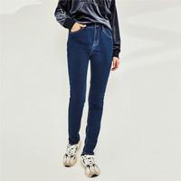 双11预售:GIORDANO 05410722 女士加绒铅笔裤