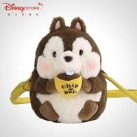 双11预售:Disney 迪士尼 6930018946745 奇奇毛绒单肩包