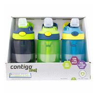 双11预售、考拉海购黑卡会员:Contigo 康迪克 儿童防漏吸管杯 414ml 3个