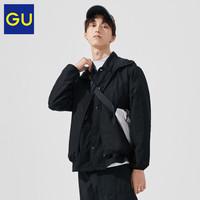 GU 极优 326103 男士防风连帽衫外套