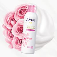 双11预售:Dove 多芬 玫瑰甜悦沐浴慕斯 200ml*2瓶装