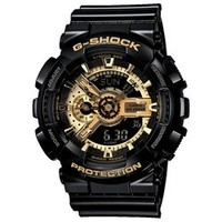 G-Shock XL 黑金系列 GM-110 防水防震防磁运动男表