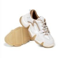 双11预售:BeLLE 百丽 V5C1DCM0 女士休闲运动老爹鞋