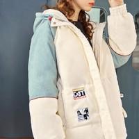 双11预售:EPTISON 衣品天成 AWM005 女士灯芯绒棉衣