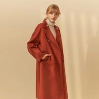 双11预售:ME&CITY 533556-330646 女装中长款毛呢大衣