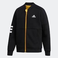双11预售:adidas 阿迪达斯 EH4100EH4101 大童装训练运动针织夹克 *4件