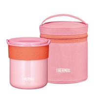 双11预售:THERMOS 膳魔師 不锈钢保温便当盒 JBP-250 CP 250ml 粉色