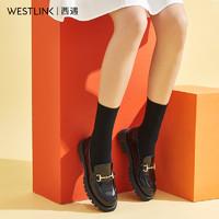 双11预售:westlink 西遇 21603911Y 英伦小皮鞋