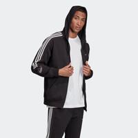 1日0点:adidas 阿迪达斯 OUTLINE FZH FLC ED4693 男装连帽外套
