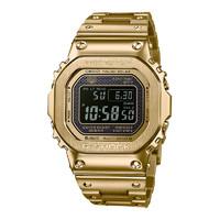双11预售:CASIO 卡西欧 G-SHOCK GMW-B5000GD系列 男士太阳能电波腕表