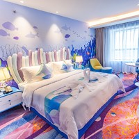 双11预售:上海海昌海洋公园度假酒店  家庭大/双床房1晚(含早餐+海洋公园2日畅玩)