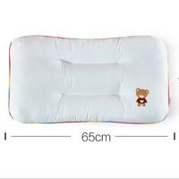 双11预售:LOVO乐蜗家纺 防螨纤维枕头 40*65cm 一对装