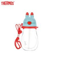 THERMOS 膳魔师 FOOGO系列 BBSH-423 RB 儿童吸管杯 450ml *2件 +凑单品
