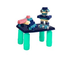 勾勾手 多功能大颗粒积木桌子 56颗积木