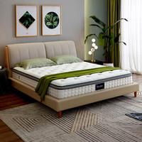 1日0点:QuanU 全友 105168 弹簧乳胶床垫 150*200cm
