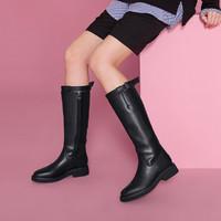 Teenmix 天美意 TD1A8991DU1DG9 女士高筒靴