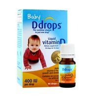 88VIP、宝藏新品牌:Baby Ddrops 婴儿复合维生素D3滴剂 400IU 90滴*2瓶